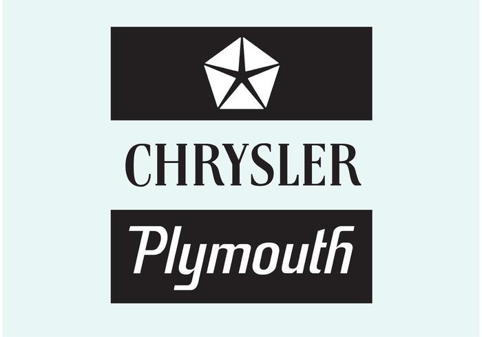 Chrysler plymouth vektor
