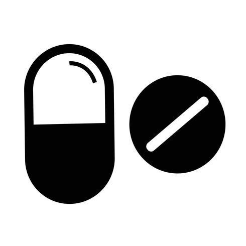 medicin ikon symbol tecken vektor