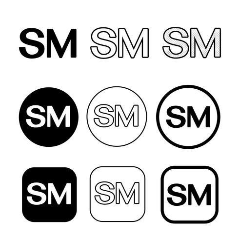 Service Mark Symbol Symbol Zeichen vektor