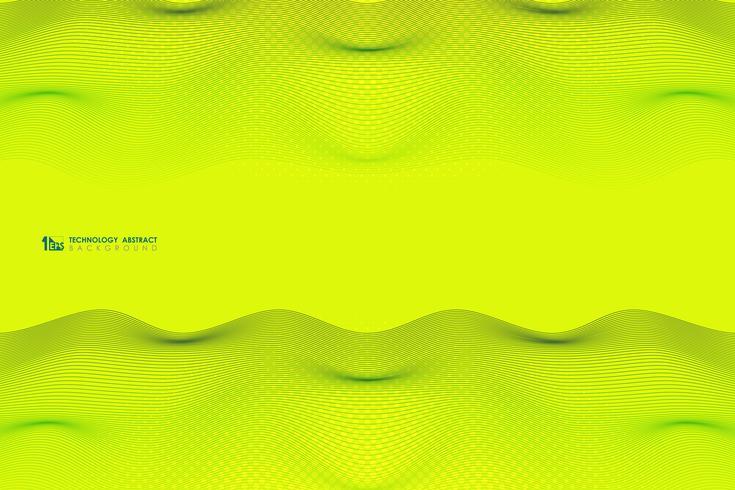 Abstrakt levande färg av vågig rand linje mönster design bakgrund. illustration vektor eps10