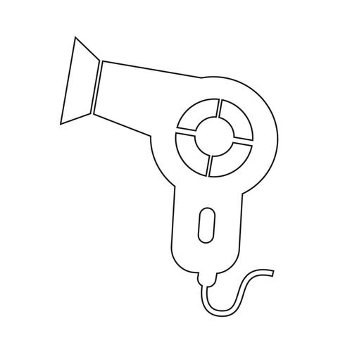 Föhn-Symbol vektor