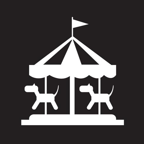 Frohe Runde Symbol vektor
