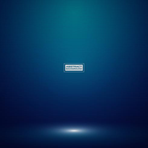 Abstrakte dunkelblaue Steigungsfarbe des Technologiestudio-Modellhintergrundes. Dekorieren für Werbung, Poster, Show, Artwork, High-Tech-Stil. vektor