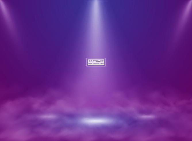 Abstrakt teknologi blå rosa färg studio mockup bakgrund. illustration vektor eps10