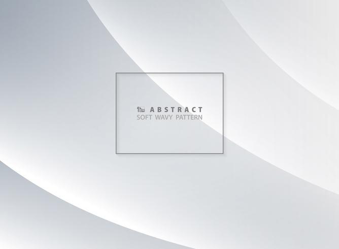Abstrakt mörkblå mjukt vågigt mönster design bakgrund. Du kan använda för annons, affisch, modern design, konstverk, vågig sida. vektor
