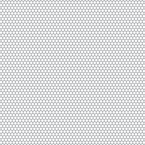 Abstraktes kleines Hexagonmuster des Technologiedesignhintergrundes. Sie können für die nahtlose Gestaltung von Tech-Anzeige, Poster, Grafik, Print verwenden. vektor