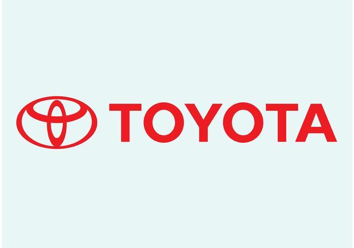 Toyota-vektorzeichen vektor