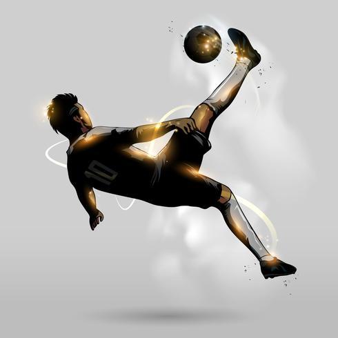 abstrakt fotbollspark vektor