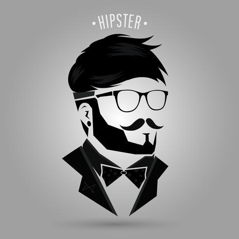 Hipster Frisur 04 vektor