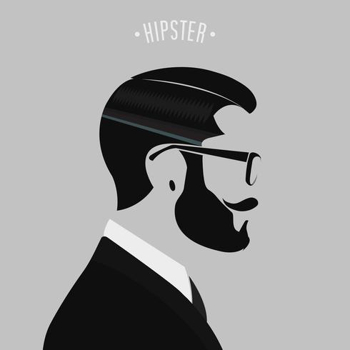 Hipster Herrenmode vektor