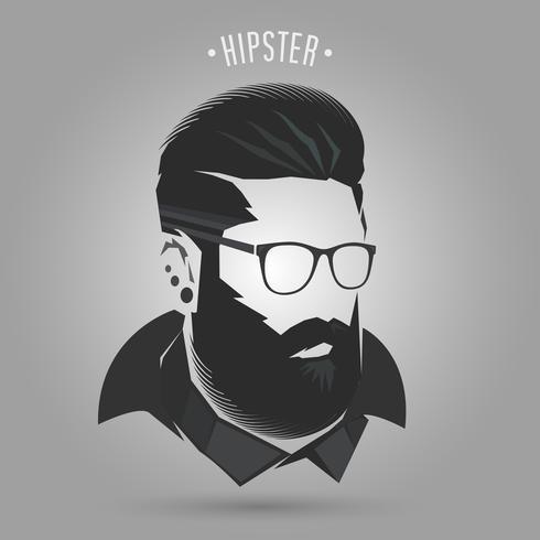 Hipster-Winter-Stil vektor