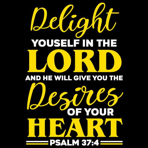 Gläd dig i Herren vektor