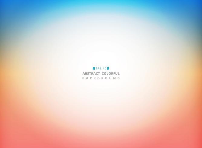 Abstrakt sommar natur väder färg bakgrund med text utrymme. vektor