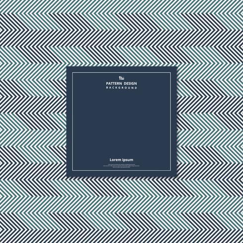 Geometrischer Hintergrund des abstrakten Musters des blauen Tondesigns. vektor