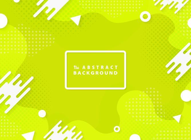 Abstrakt levande grön färg vektor design geometrisk element bakgrund. illustration vektor eps10