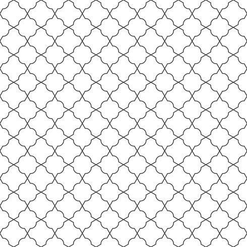 Abstrakt sömlös geometrisk linje mönster bakgrund. vektor