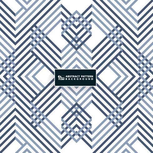 Abstraktes systematisches geometrisches blaues Musterdesign. Sie können für Cover-Design, moderne Grafik, Druck, Anzeige, Bericht verwenden. vektor