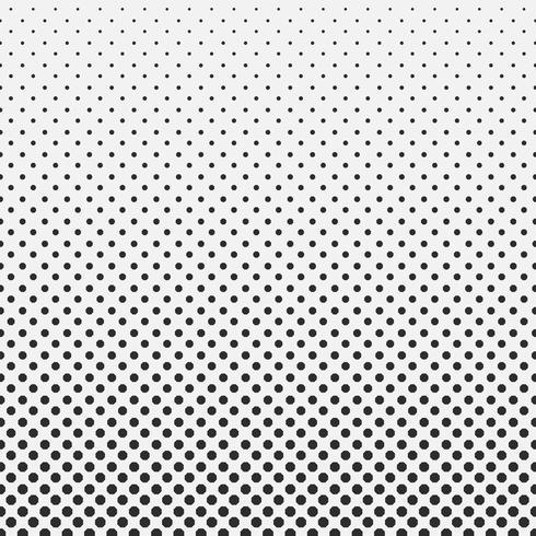 Abstrakt hexagon halvton mönster bakgrund svart och vitt. vektor