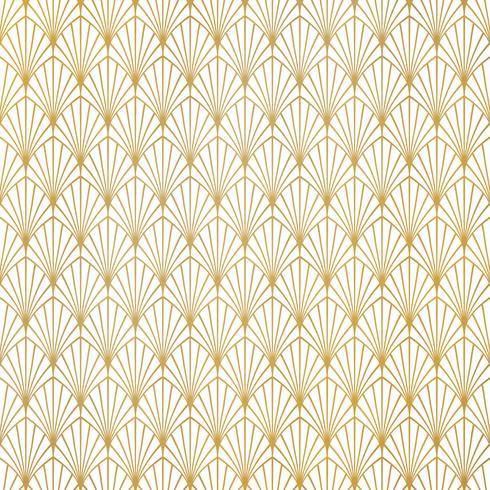 Abstrakt guld art deco mönster lyxig design bakgrund. Du kan använda för premium bakgrund, annons, affisch, omslagsdesign, presentation. vektor