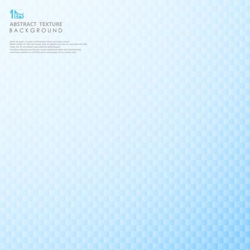 Abstraktes modernes Design des geometrischen Hintergrundes des blauen Steigungsunschärfe-Quadrats. vektor