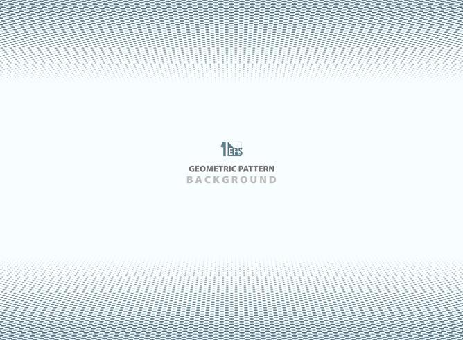 Geometrischer Hintergrund des abstrakten dunkelblauen Punktmusters. vektor