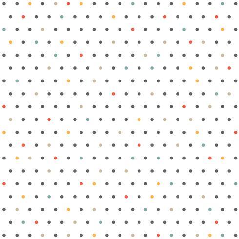 Zusammenfassung des Farbminimalen Punktmusterhintergrundes. vektor