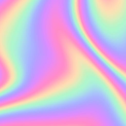 Abstrakt holografisk bakgrundsvektor vektor