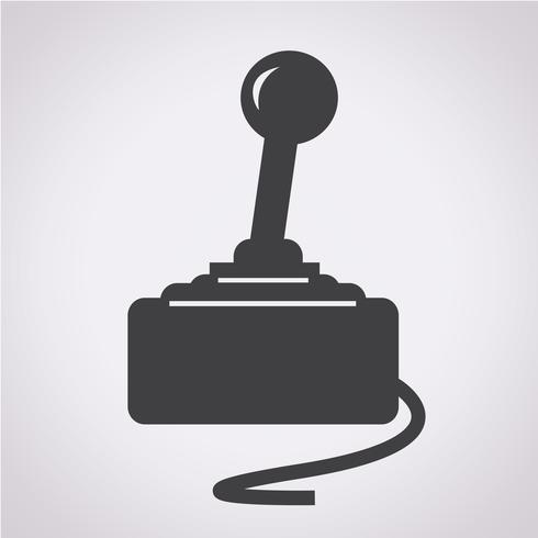 Gamecontroller-Symbol vektor