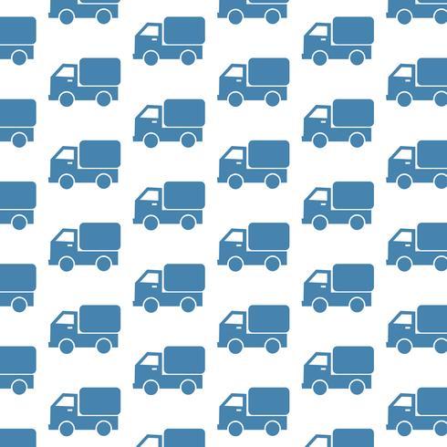 Auto LKW Muster Hintergrund vektor