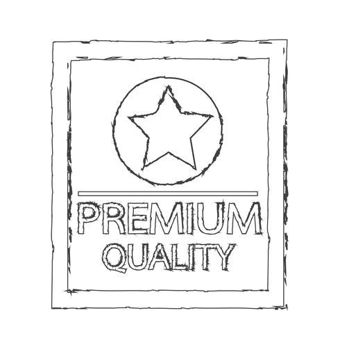 Premium-Qualität-Symbol vektor