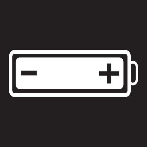 Batterie-Web-Symbol vektor