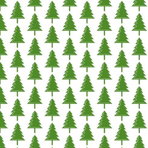 Muster Hintergrund Weihnachtsbaum Symbol vektor