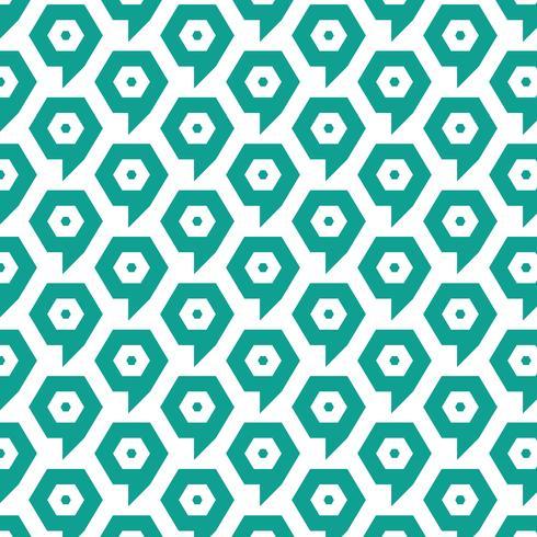 Muster Hintergrund Ziel Blase Symbol vektor