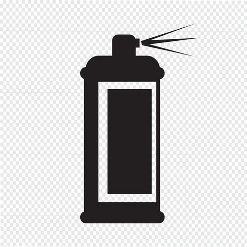 Spray Symbol Symbol Zeichen vektor