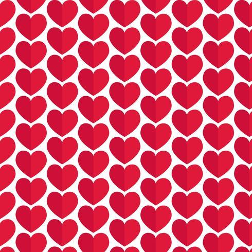 Muster Hintergrund Liebe Herz-Symbol vektor