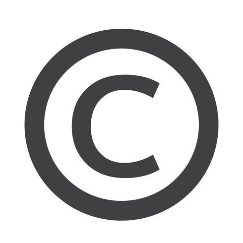 Copyright-Symbol vektor
