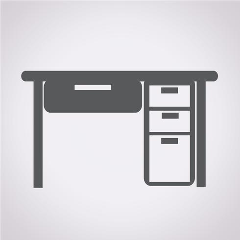 Tabell Office Ikon vektor