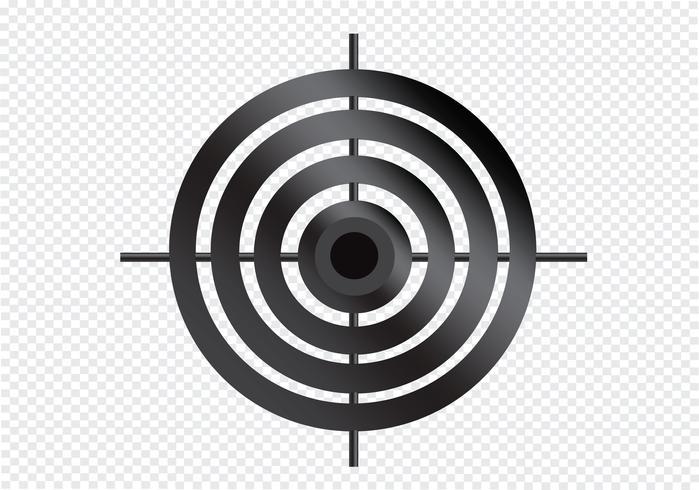 Zielsymbol Symbol Zeichen vektor