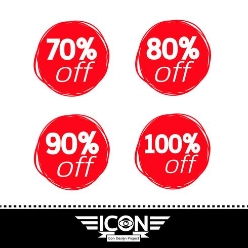 försäljning ikon symbol tecken vektor