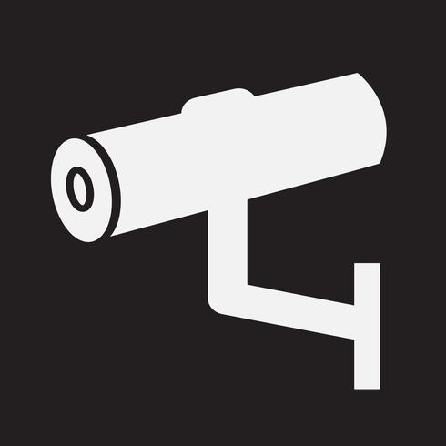 CCTV-ikon, CCTV, säkerhetsikon, CCTV-kamera vektor