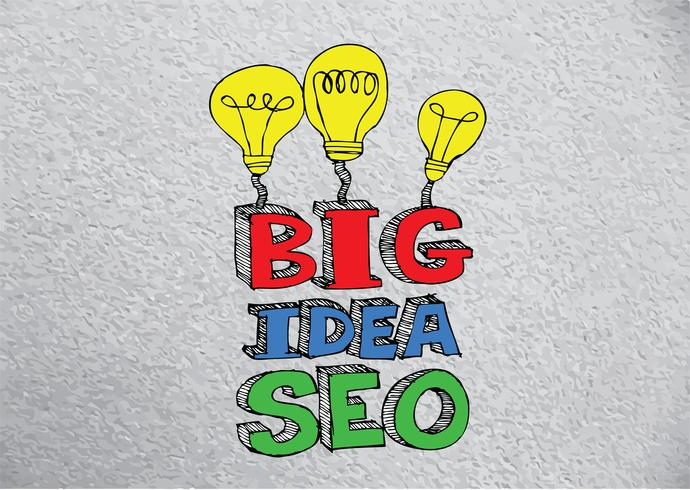 Seo Idea SEO Sökmotoroptimering vektor