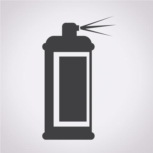 Spray ikon symbol tecken vektor