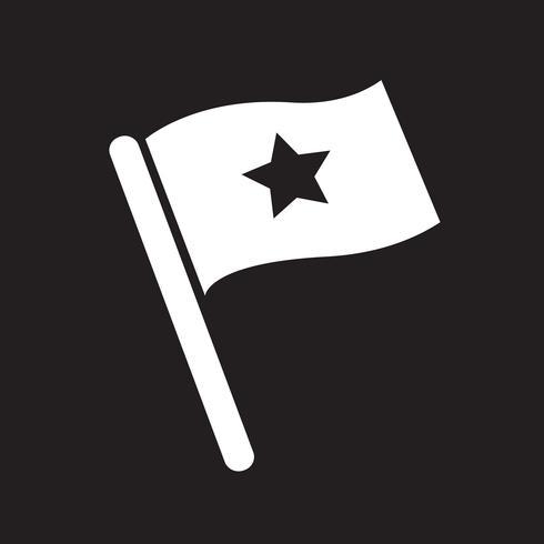 Flaggensymbol Symbol Zeichen vektor