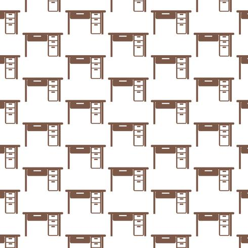 Bordskontorsmönsterbakgrund vektor