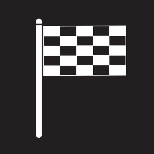flagga ikon symbol tecken vektor