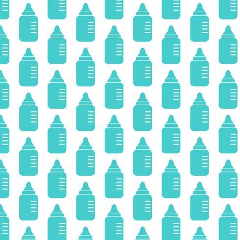 baby mjölk flaskan bakgrund vektor