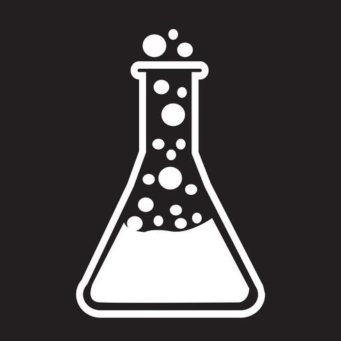 Reagenzglas-Symbol vektor