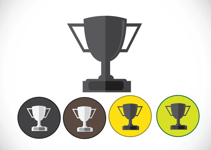 Champions Cup-Symbol in der Illustration Idee Design vektor