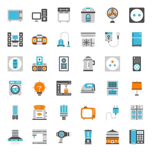 hushållsapparater ikon vektor