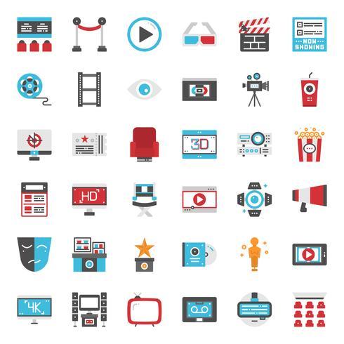 Movie Entertainment-Symbol vektor